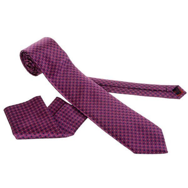 kravata sa tufnama, kravata sa detaljima, ljubicasta kravata, satenska kravata, kravata od satena, kravata cena, kravate cena, kravate povoljno