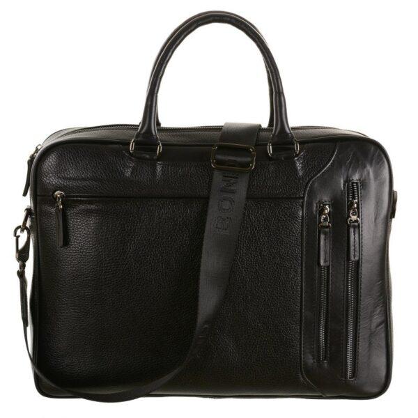 crna kozna muska torba