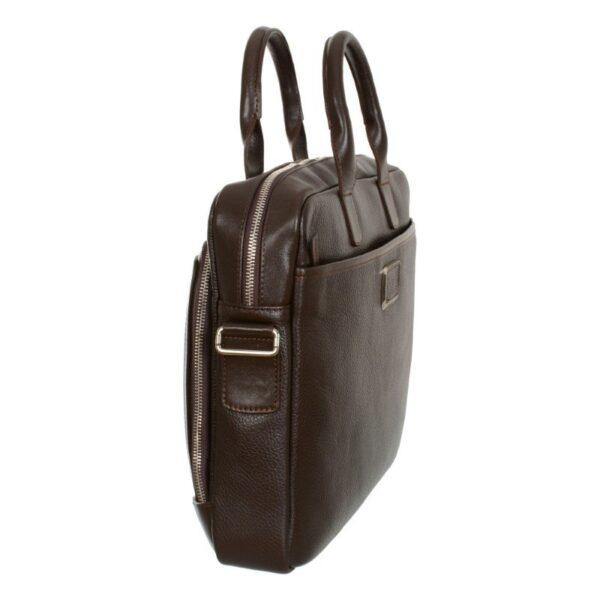 braon poslovna muska torba