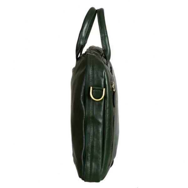 zelena, zelene, torbe, tasne, od, koze, kozne, za posao, poslovne