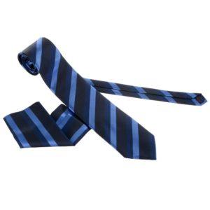 uska kravata, siroka kravata, kravata sa plavim linijama, crna kravata, plavo zelene linije, kravata sa maramicom,